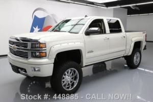 2014 Chevrolet Silverado 1500 SILVERADO HIGH COUNTRY CREW 4X4 LIFT NAV