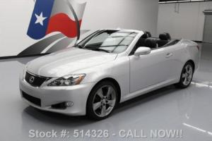 2010 Lexus IS 250C CONVERTIBLE CLIMATE SEATS NAV