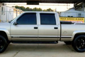 2000 Chevrolet Silverado 2500 CREW 2500 HD 4X4 LEATHER K2500 TRUCK CHEVY GMC