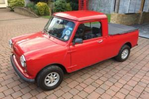 Classic Austin Rover Mini Pickup in Red 'Restored'  1981 VERY RARE Photo