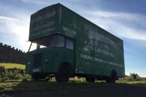 BEDFORD SB 1955 LORRY, LUTON, VINTAGE, CLASSIC COMMERCIAL , PERKINS,CHESTERFIELD