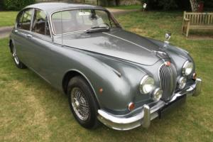 superbly original LHD 1961 Jaguar Mark II 3.4 man/OD + drives superbly