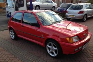 ford fiesta rs turbo red t3 turbo full mot