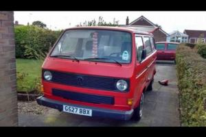 VW T25 Camper van GTI conversion
