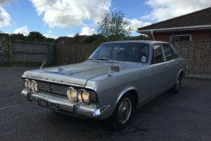 1969 FORD MK4 ZODIAC 3.0- 4 Speed Manual! Barn Find/Project(Essex Engine)! Runs!