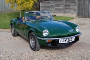 1979 Triumph Spitfire 1500, Brooklands Green/tan trim, 4-owners,History, Hardtop Photo