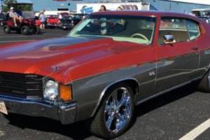 1972 Chevrolet Chevelle Pro Touring, Resto Mod with $95k Rotisserie Resto. Photo