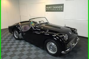 1960 Triumph TR3 Photo