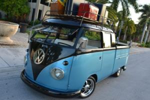 1961 Volkswagen Bus/Vanagon Double Cab SHOW CAR! SEE VIDEO