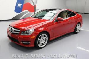 2012 Mercedes-Benz C-Class C250 COUPE P1 PANO SUNROOF NAV