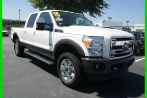 2016 Ford F-250 King Ranch
