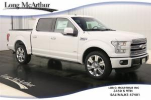 2016 Ford F-150 LIMITED SERIES SUPERCREW LEATHER NAV MSRP $61070