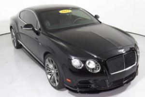 2015 Bentley Continental GT 2dr Coupe