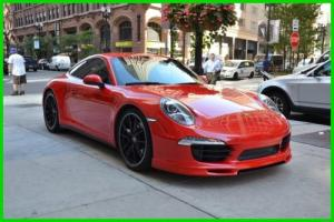 2013 Porsche 911 Carrera 4S manual clean rudy@7734073227