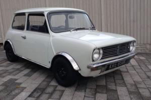 1972 AUSTIN MINI CLUBMAN British Leyland, Low miles, 3 owners, rare tax exempt