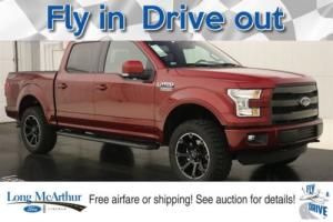 2016 Ford F-150 LARIAT LIFTED LMX4 4X4 SUPERCREW MSRP $61176