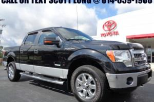 2013 Ford F-150 2013 SuperCrew Short Bed Ecoboost 4x4 Black