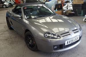 2005 MG TF 135 SPORT CONVERTIBLE 1.8L METALLIC GREY