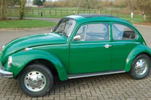 1972 Classic VW Super Beetle 1302 Oak Green MOT Sept 2017 Volkswagen Bug No Tax