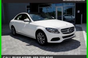 2016 Mercedes-Benz C-Class C300 Sport 4Matic AWD Camera Pano Clean Carfax