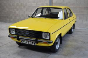 Exceptional 1980 Ford Escort MK2 1.3 GL With Just 4392 Miles From New!!