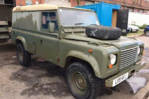 Land Rover Defender 110 4c 2.5 Diesel Ex Military Mod Army 64k