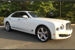2016 Bentley Mulsanne 4dr Sedan Speed