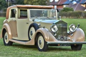 1936 Rolls Royce 25/30 Sedanca. Photo