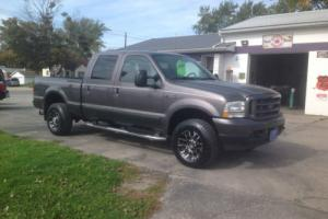 2003 Ford F-250 Powerstroke 7.3 lt tdsl RARE crew cab leather