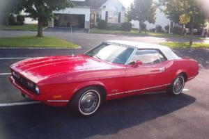 1972 Ford Mustang 1972 MUSTANG   W/302 V-8 No Reserve