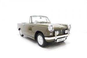 A Genuine and Delightful Triumph Herald 1200 Convertible with 39,166 Miles. Photo