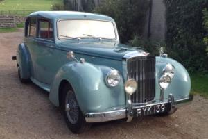 1955 Alvis Grey Lady TC21/100 Photo
