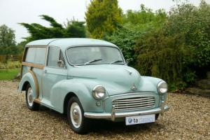 1959 Morris Minor Traveller. Refurbished During 2014. 1098cc Engine
