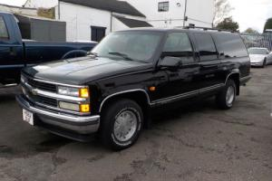 1999 CHEVROLET SUBURBAN 5.7 LITRE AUOT PETROL 2WD, CEAR HPI AND CARFAX REPORTS