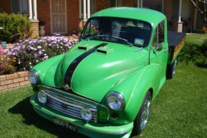 MORRIS MINOR PICK-UP.(1962) ONCE A UTILITY.THERE'S NONE TOO MANY LIKE THIS BOY.