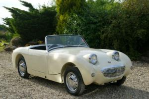 1959 Austin Healey Frogeye Sprite MK 1 Photographic Restoration Carried Out 2014