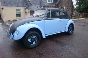 VW Beetle 1973 Convertible