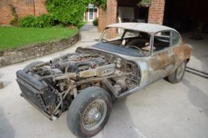 Jaguar E Type V12 for restoration