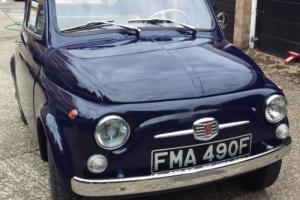 1968 Fiat 500 F Berlina. Amazing Paint and Interior. Great Little Car.