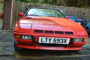 Porsche 924 Turbo - Project car for Sale