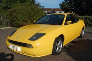 GENUINE & LOW MILEAGE - STUNNING FIAT COUPE - ONE OF THE LAST - WITH S/HISTORY for Sale