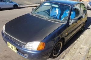 Toyota Starlet 1998 3D Hatch Manual (1.3L - Multi Point F/INJ) fully rebuilt