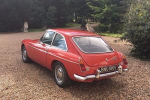 MGB GT SPORTS 1969, TAX EXEMPT, GENUINE CHROME MG, ORIGINAL & SOLID EXAMPLE Photo