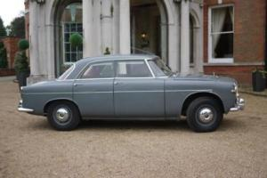 Rover 3 Litre Mark 1 Automatic 1959 - Chassis No 20 - Remarkable Car Photo