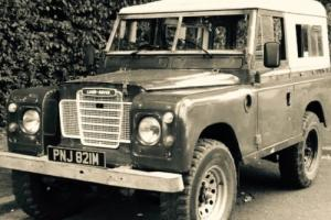 "1974 LAND ROVER SERIES 3, 88"", 2.25 4Cyl Petrol (Historic - Tax exempt), Patina!"