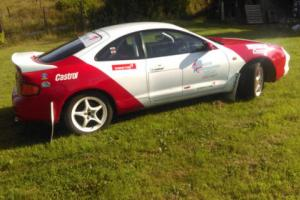 RALLY CAR Toyota Celica ST202 FWD , MSA LOG BOOK GOOD SPEC SPARES BARGAIN
