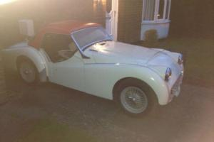 TRIUMPH TR3A.1960 RHD FAST ROAD / COMPETITION CAR.