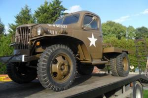 WWII 1940 Dodge WC41 - WC12 Flatbed (lookalike) Photo