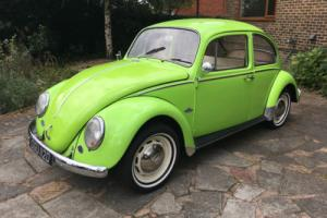 1966 VOLKSWAGEN BEETLE GREEN ONE OWNER 75K MILES OVER £9K SPENT ON RESTORATION