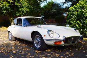 1971 E- TYPE JAGUAR V12 MANUAL COUPE